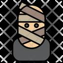 Mummy Halloween Zombie Icon