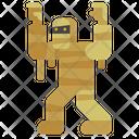 Mummy Halloween Horror Icon