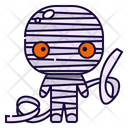 Mummy Halloween Costume Icon