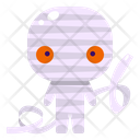Mummy Halloween Character Icon