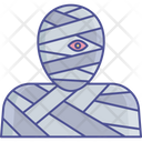 Halloween Character Mummy Dead Person Icon
