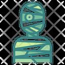 Mummy Spooky Scary Icon