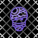 Mummy Monster Zombie Icon