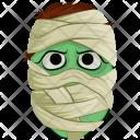 Mummy Face Mask Icon