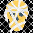 Mummy Face Icon