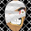 Mummy Mask Icon