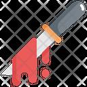 Knife Blood Law Icon
