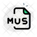 Mus File Icon