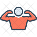 Muscle Sinew Brawn Icon