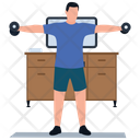 Muscle Exercise Icon