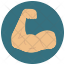 Muscles Fitness Bicep Icon