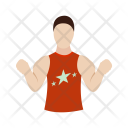 Muscular Person Man Icon