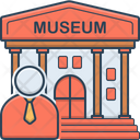 Museum Guide Cicerone Icon