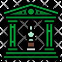 Museum Architecture Banks Icon