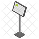 Museum Reader Stand Icon