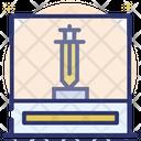 Museum Showcase Sword Sabers Icon