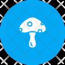 Mushroom Button Vitamin Icon