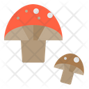 Mushroom Vegetable Healthy Icon