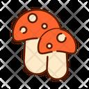 Mushroom Fungi Food Icon