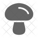 Mushroom Fungus Edible Icon
