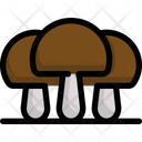 Mushroom Autumn Season Icon