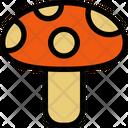 Mushroom Food Fungus Icon