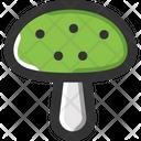 Mushroom Amanita Ingredient Icon