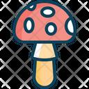 Amanitam Mushroom Mushrooms Icon