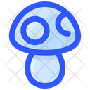 Spring Mushroom Insect Icon
