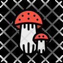Mushroom Food Fungi Icon