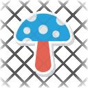 Mushroom Food Amanita Icon