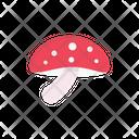 Mushroom Champignon Amanita Icon