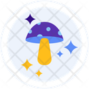 Mushroom Porcini Champignon Icon