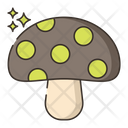 Mushroom Healthy Food Food Icon