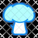 Mushroom Vegetable Color Icon