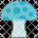 Allergy Medical Mushroom Icon