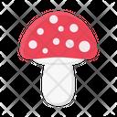 Mushroom Plant Amanita Icon