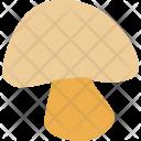Mushroom Food Ingredient Icon