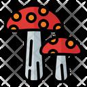 Mushroom Fungus Nature Icon