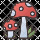 Mushroom Food Vegetables Icon
