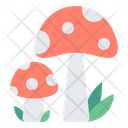 Mushroom Food Vegetables Icon
