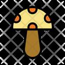 Mushroom Fungus Vegan Icon