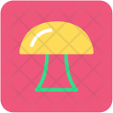 Mushroom Oyster Fungi Icon