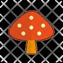 Mushroom Food Vegetable Icon