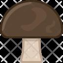 Mushroom Forest Food Icon
