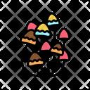 Mushroom Boho Icon