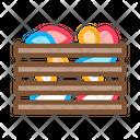 Mushroom Wooden Box Icon