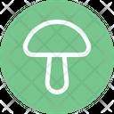 Mushroom Food Icon