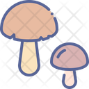 Mushroom Healthy Vegetable Food Shroom Vitamin D Icon