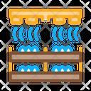 Mushroom Farm Heating Icon